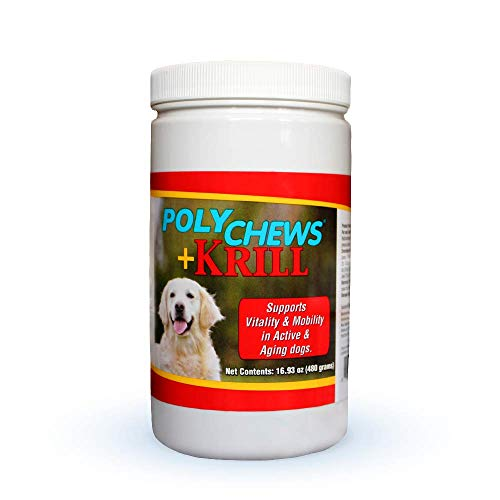 Polychews Plus Krill for Large Dogs by Bimeda - 120 Soft Chews