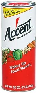 Ac'cent Flavor Enhancer - 2 lb. canister (4 pack)