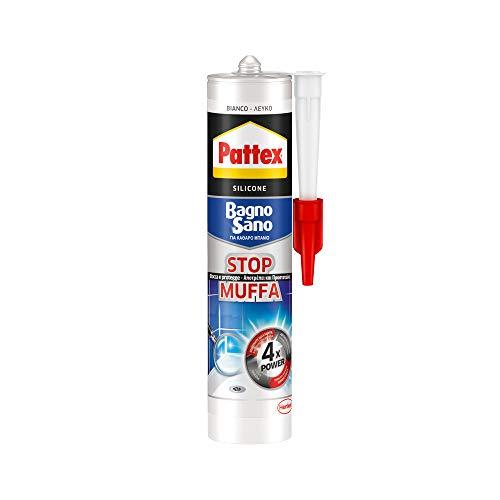 Pattex 1506138 Mastic neutre contre les moisissures 300 ml Blanc