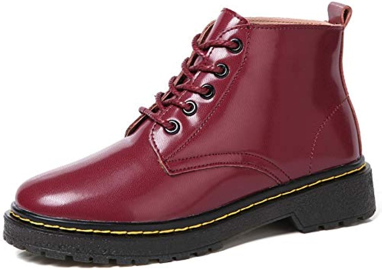 Top Shishang Shishang Shishang Damen Stiefel Plus SAMT Stiefeletten Flachboden Mode wild Plus Baumwollschlauch  628276
