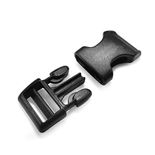 Ganzoo klick-Verschluss aus Kunststoff im 5er Set, extrem stabil, 1
