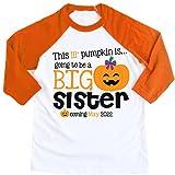 Personalized Big Sister Shirt Halloween Shirt...