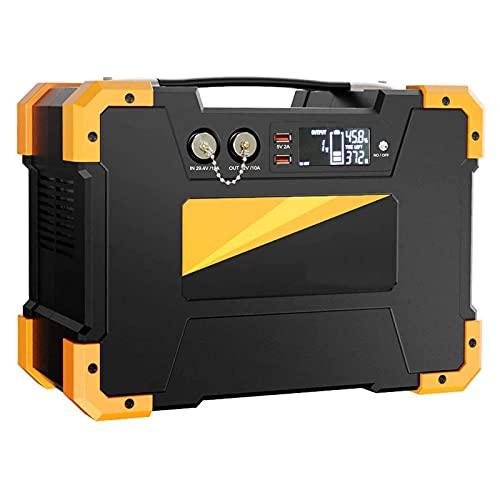 AIISHY Central eléctrica portátil de 1028WH, Paquete de batería de Litio de, generador Solar con Toma de CA, para Camping en casa, Viaje por Carretera CPAP,34x17.5cm