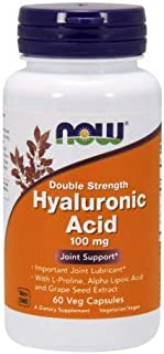 Now Foods Hyaluronic Acid, 60 Vcaps 100 mg