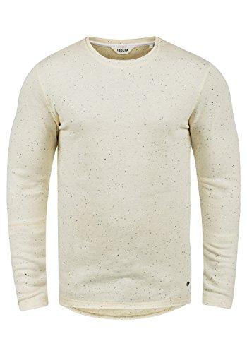 !Solid Nappo Herren Sweatshirt Pullover Pulli Mit Rundhalsausschnitt Aus 100% Baumwolle, Größe:M, Farbe:Vanilla IC (0116)