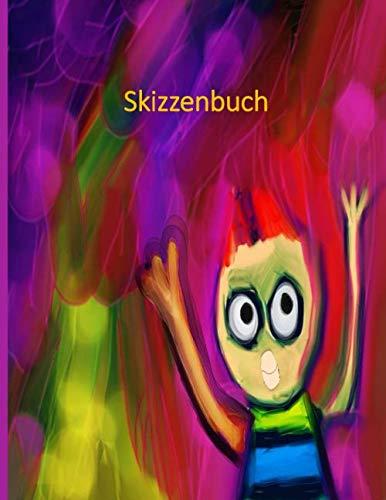 Skizzenbuch: Notizbuch für Kinder und Erwachsene zum Schreiben, Zeichnen und Malen (120 weiße Seiten, Format 21,59 x 27,94 Cm)