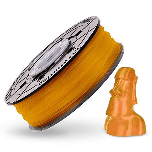 XYZprinting RFPLCXEU0FE Bobina de Filamento de PLA de diámetro 1.75 mm, Dorado