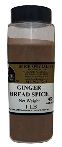 Gingerbread Spice in a 1 lb. Plastic Container - KOSHER