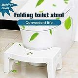 Suppyfly Tabouret de Toilette Pliable Multifonction pour Salle de Bain