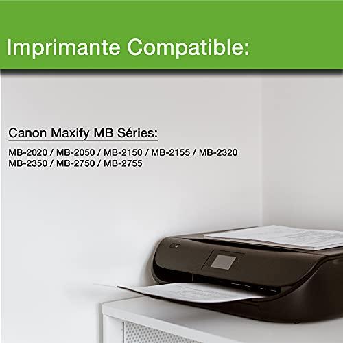 iCartouche Cartucho de Tinta Compatible con Canon PGI-1500XL PGI1500 XL (2BK 2C 2M 2Y) Imprimante Maxify MB2020 MB2050 MB2155 MB2150 MB2320 MB2350 MB2750 MB2755