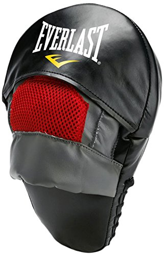 Everlast MMA Mantis - Manopla de saque de boxeo, 1 pieza, color gris