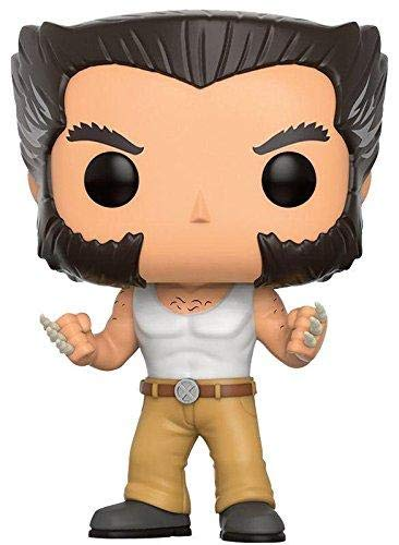 Funko Pop Logan 193 X-Men Figuras 9 cm Wolverine Cinema Marvel Exclusive #1