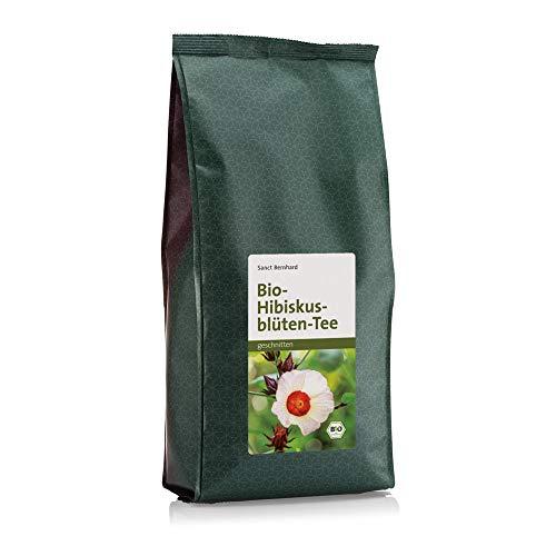 Sanct Bernhard Bio Hibiskusblüten-Tee, 100% getrocknete Blüten des Hibiscus sabdariffa, Inhalt 500g
