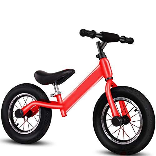 Bicicleta para bicicletas de equilibrio infantil, caminante de niños para niños para niños, niñas, juguetes ajustables para niños pequeños, sin pedal, niño, bicicletas, primeros regalos de cumpleaños.