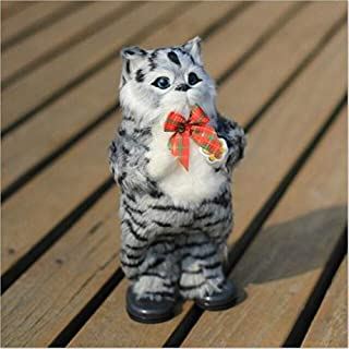 SIZOO - Stuffed & Plush Animals - Simulation Cat Electric Toy Plush Cat Singing and Dancing Cartoon Animal Doll Gift Kids ...