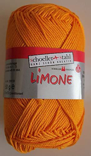 Limone Schoeller + Stahl 100 % Baumwolle 50 g Farbe 157-mandarine