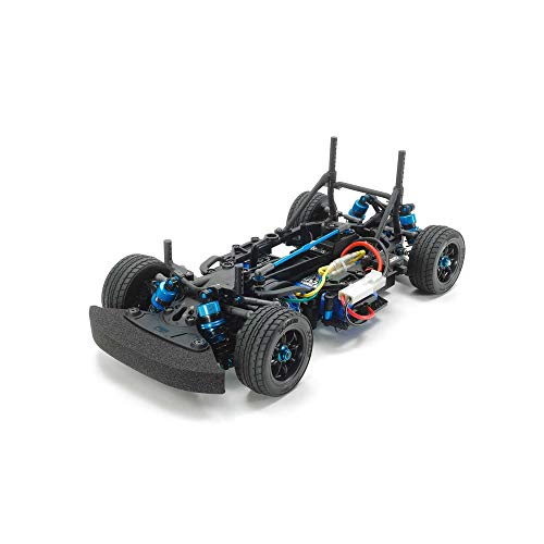 TAMIYA 84436 84436-1:10 RC M-07R Chassis Kit, ferngesteuertes Auto/Fahrzeug, Modellbau, Bausatz, Hobby, Zusammenbauen, schwarz