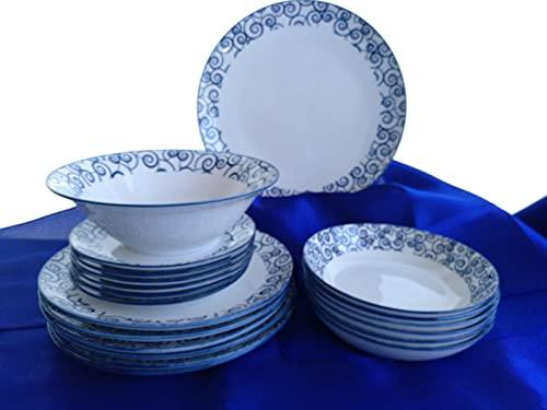 Vajilla Porcelana Bidasoa - Vajilla 20 Piezas 6 Servicios