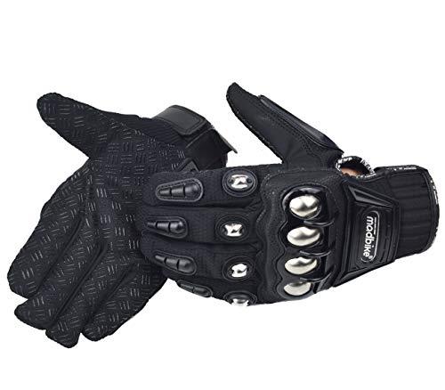 madbike Handschuh Motorrad Racing Motorrad Handschuhe Legierung Stahl Schutz - 7