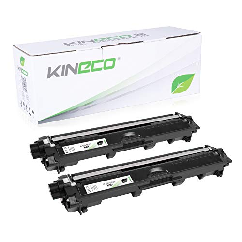 Kineco 2 Toner kompatibel für Brother TN-241 TN241 für Brother MFC-9142CDN, Brother...