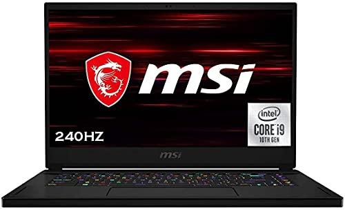 MSI GS66 Stealth 15.6' FHD 240Hz 3Ms Gaming Laptop, i9-10980HK 5.3GHz, HD Webcam, Wi-Fi 6, RGB Keyboard, Thunderbolt 3, USB-C, RTX 2070 Super Max-Q, Win 10 Pro, 32GB RAM, 1TB PCIe SSD, WOOV 32GB SD
