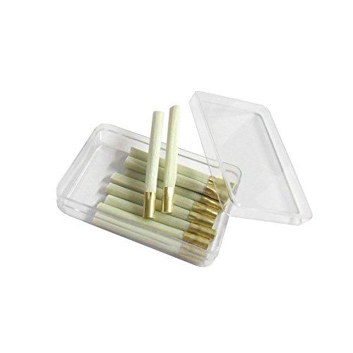 WITTKOWARE Ersatzpinsel für 4mm Glasfaser-Radierstift, 12 Stück