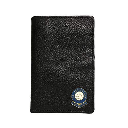 St Johnstone Football Club Leather Credit Card case