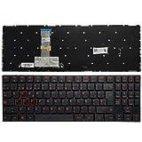YUHUAI Reemplazo de Laptop Teclado Adecuado para Lenovo Legion Y520-15IKB Y720-15IKB Diseño Español Sin Retroiluminación
