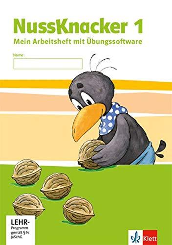 Nussknacker 1. Ausgabe Sachsen und Thüringen: Arbeitsheft mit CD-ROM Klasse 1 (Nussknacker. Ausgabe für Sachsen und Thüringen ab 2015)