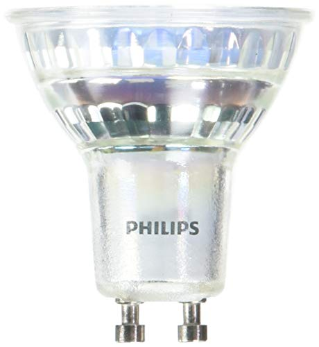 Philips Lighting 8718696562789Philips Spot LED GU10, 4, 6W equivalente 50W, dimmerabile, Plastica, Bianco, 5, 3x 5cm