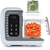 Children of Design 8 in 1 Smart Baby Food Maker & Processor, Steamer, Blender, Cooker, Masher,...