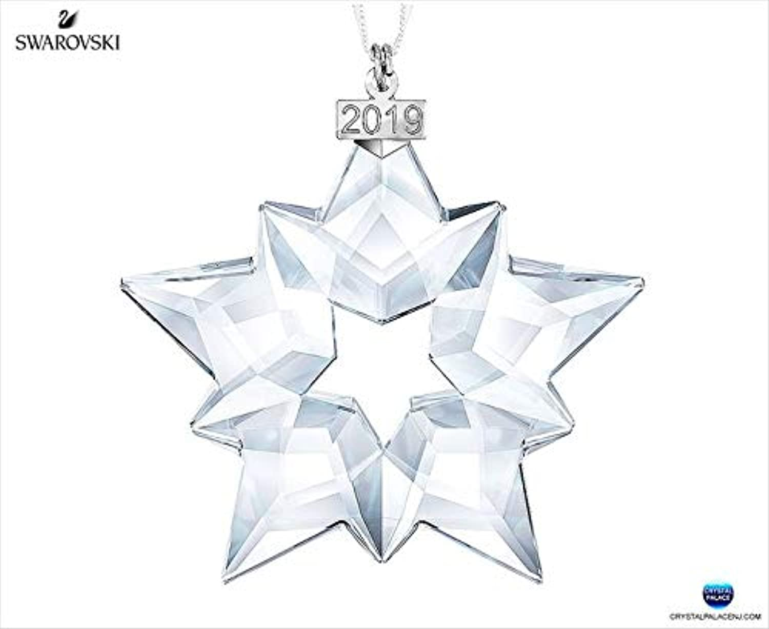 Swarovski Annual Edition 2019 Christmas, Large Chrsitmas Ornament, Clear