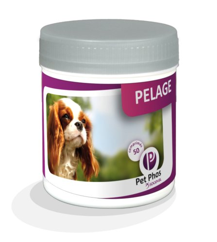 Sogeval - Pet-Phos Canin Special pelage 50 cps