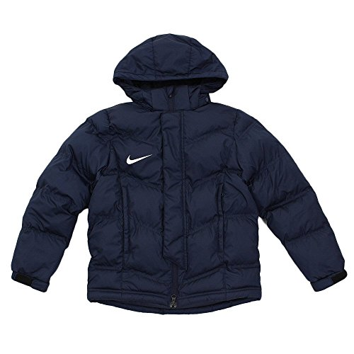 Nike - Jacket Team Winter - Veste d'hiver - Mixte Enfant - Bleu (Obsidian/Blanc) - Taille: XS