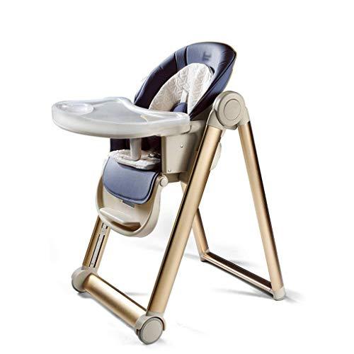 SZXJJ Multifuncional de Comedor de Comidas apilable portátil bebé Silla de Comedor Silla de niño Silla de Comedor Silla de Seguridad (Color : A)