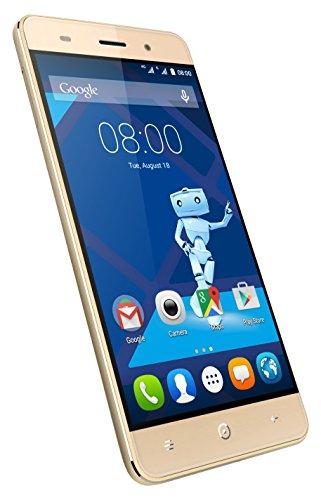 Haier Leisure L56 Smartphone 4G, Quad-Core, Fotocamera da 13 MP, Oro [Italia]