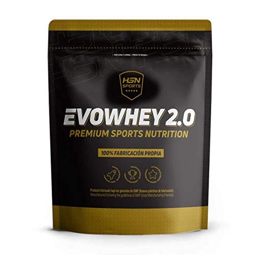 Whey Protein Concentrate (WPC) de HSN Sports - Concentrado de Proteína de Suero Evowhey 2.0 - Sabor Chocolate - 500 gr