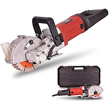 Wall Chaser Concrete Saw Electric Groove Cutting Machine Slotter 133mm Saw Blade