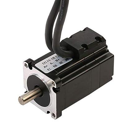 RTELLIGENT Nema 17 Stepper Motor, 30Ncm Closed Loop 2 Phase 4-Wire Bipolar Stepping Motor with Encoder for 3D Printer, Laser, CNC Kits