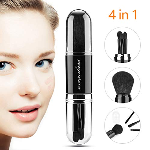 4 in 1 Retractable Makeup Brushes Set $5.32 (33% Off)