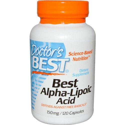 Mejores ácido alfa lipoico, 150 mg, 120 cápsulas - El médico de Best