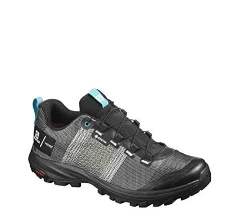SALOMON Shoes out GTX W/Pro, Zapatillas de Trekking Mujer, Multicolor (White/Black/Bluebird), 38...