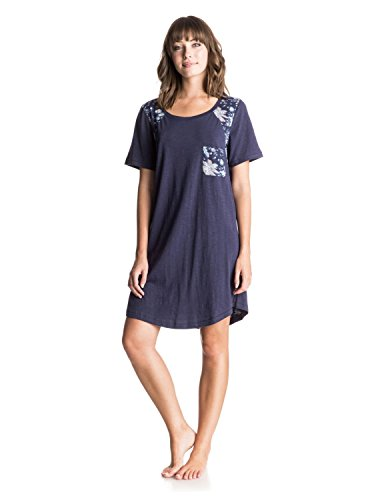 Roxy Damen Kleid NAUTICAL J KTDR BTC0 Mini, Blau - Blau (Eclipse), Large (Herstellergröße: Large)