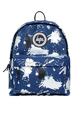 Hype Navy Large Splatter Backpack