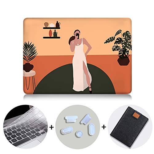 Laptop Sleeve Case For Macbook Pro 13 2020 Cover For Macbook Pro Air 11 12 13 15 16 Inch Touch Bar Funda With Laptop Bag