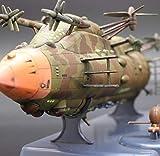 天空の城ラピュタ 飛行戦艦ゴリアテ 120スケール ムスカ大佐 ファインモールド 塗装済 完成品らぴゅた じぶり てんくう