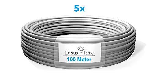NYM-J 3x1,5 mm deutsche Qualitätsware Elektro VDE Installationsleitung 1-500m Mantelleitung Kabel 3 Adrig (500m (5x 100m))