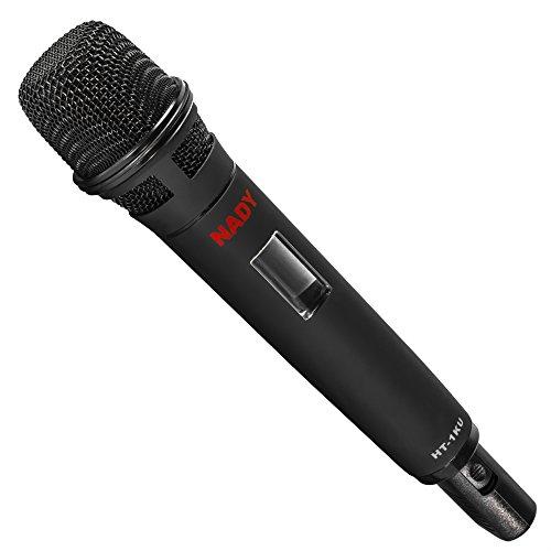 Nady HT-1KU Wireless Handheld Microphone Transmitter for W-1KU, 2W-1KU, 4W-1KU and 8W-1KU systems – Band 3 (520.0-544.9MHz)