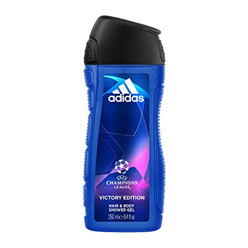 Adidas Gel Douche UEFA 5 Victory Edition 250 ml - Lot de 2