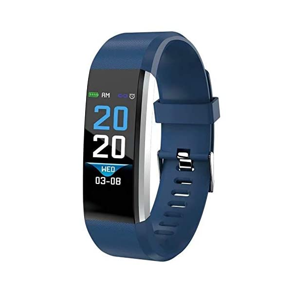 DOMDIL-Fitness Tracker con Cardiofrequenzimetro e Monitor del sonno, Activity Tracker con Display a Colori Smart Watch… 1